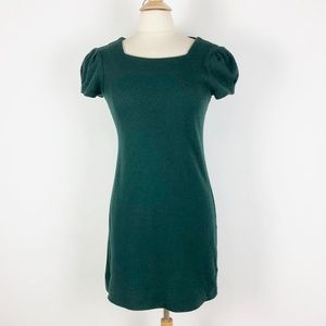 Banana Republic Green Short Sleeve Career Dress M